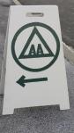 Sandwich Sign